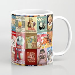Vintage Beer Ads Coffee Mug