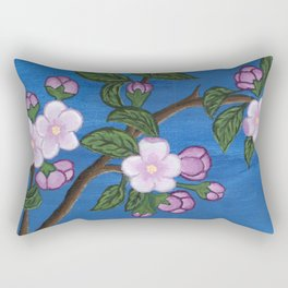 Blossoming Tree Rectangular Pillow