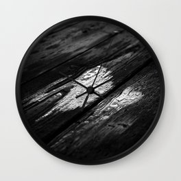 Oil Silk Wall Clock
