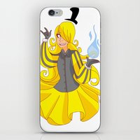 bill cipher iPhone & iPod Skins featuring Bill Cipher by LinSakurane
