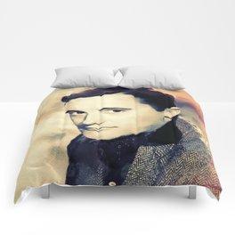 Robert Vaughn, Hollywood Legend Comforters