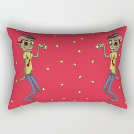 Zombie Watch Rectangular Pillow