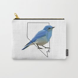 Nevada – Mountain Bluebird Carry-All Pouch