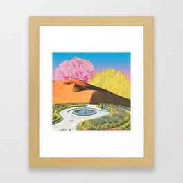 Yearning for Spring Framed Art Print