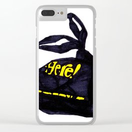 Here! Clear iPhone Case