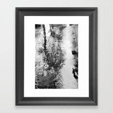 Bad weather. Framed Art Print