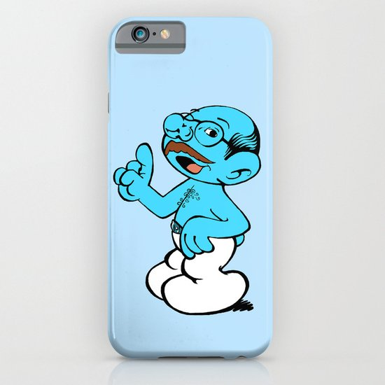 Tobias Smurf iPhone & iPod Case