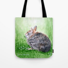 """Amongst the Clovers"" by Teresa Thompson Tote Bag"