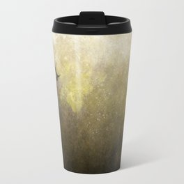 Golden Space Flight Travel Mug