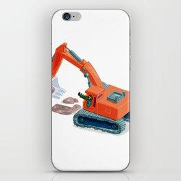 Croco Digger iPhone Skin