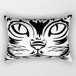 Coffee Cat Rectangular Pillow