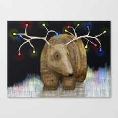 Glow me the Way : Christmas Lights Canvas Print