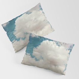 January Clouds Pillow Sham