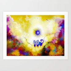 Cloud 10 Art Print
