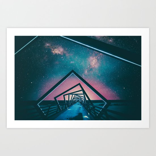 One Road Art Print