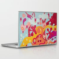 mad Laptop & iPad Skins featuring MAD by Piktorama