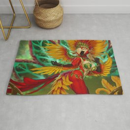 The Carnival Queen Rug
