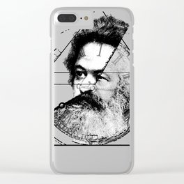 The Time of Marx Clear iPhone Case