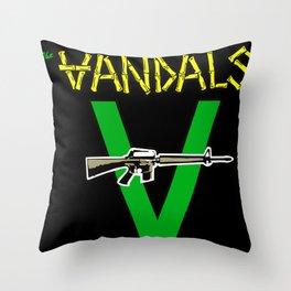 kingston jamaica ghetto Throw Pillow