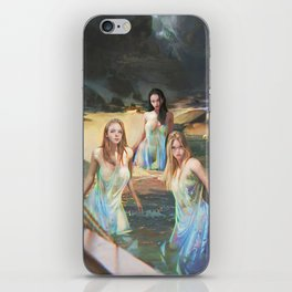"""Sirens (""""Charm of of the Ancient Enchantress"""" Series) iPhone Skin"""