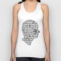 danisnotonfire Tank Tops featuring Hello Internet! by ElectricShotgun
