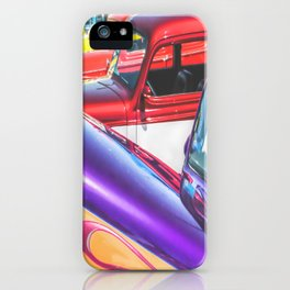 Candy Color Hot Rods, Tasty Automotive Art by Murray Bolesta iPhone Case