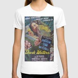 Dark Waters, vintage horror movie poster T-shirt