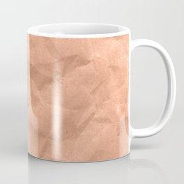 Kraft paper. crumpled paper Coffee Mug