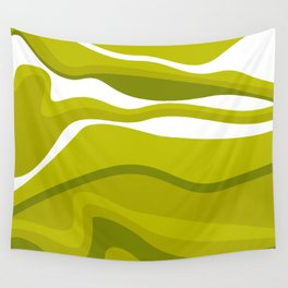 Pesto Green Wall Tapestry