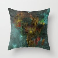 africa Throw Pillows featuring Africa by  Agostino Lo Coco