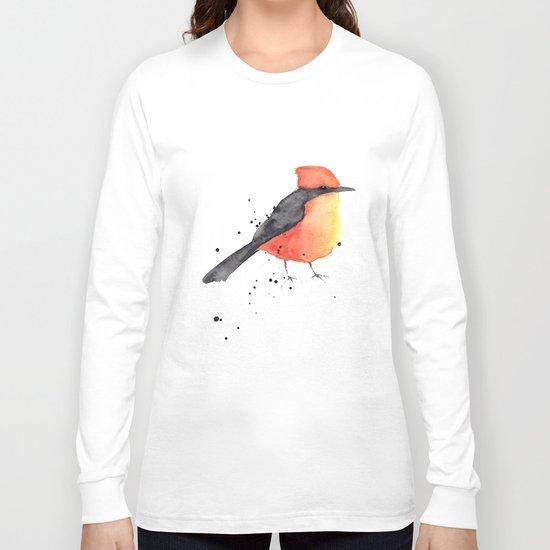 Vermilion flycatcher Long Sleeve T-shirt