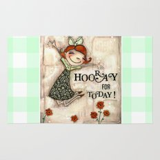 Hooray for Today - by Diane Duda Rug