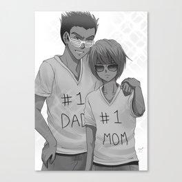 Hunter x Hunter: #1 Parents Canvas Print