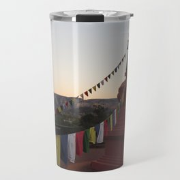 Amitabha Stupa Travel Mug