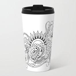 zen sunrise Travel Mug