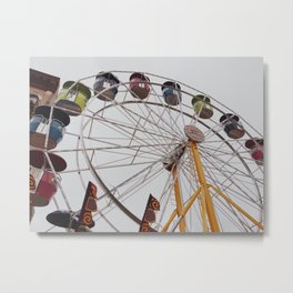 Ferris Metal Print