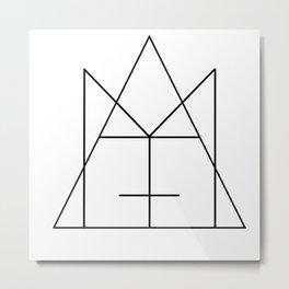 Logo Metal Print