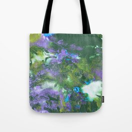 Abstract Wildflower Field Tote Bag