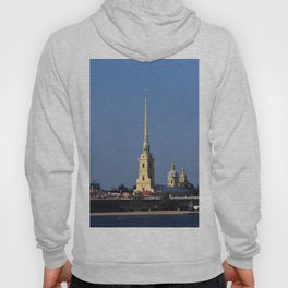 The spire of the Peter and Paul Cathedral and the embankment of the Peter and Paul Fortress Hoody