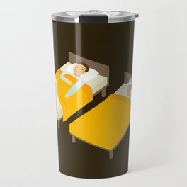 Sick In Bed Travel Mug