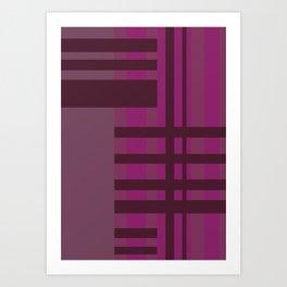 All is Purple Art Print