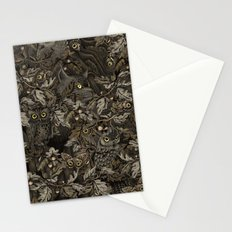 Fit In (autumn night colors) Stationery Cards