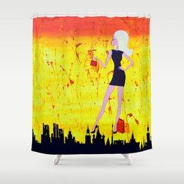 Weirdly Normal Shower Curtain
