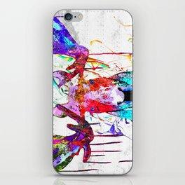 Moose Watercolor Grunge iPhone Skin