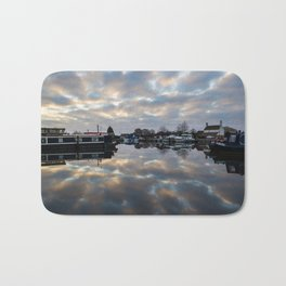 Dawn at West Stockwith Bath Mat