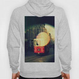 colorful tram in Istanbul Hoody