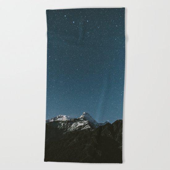 Annapurna Himalayas Beach Towel