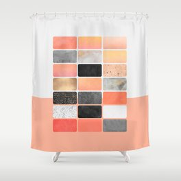 Color Board 1 Shower Curtain