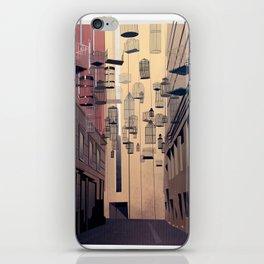 Birdcage Alley iPhone Skin