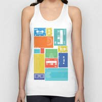 cassette Tank Tops featuring Cassette Heaven by Scott - GameRiot